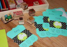 Party Theme Ideas :: A Farm / Tractor Birthday Party