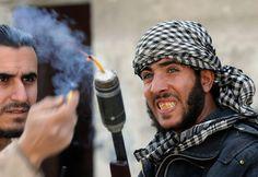 DIY Weapons of the Syrian Rebels - In Focus - The Atlantic