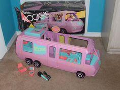 Barbie & The Rockers van