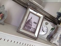 Silver Mirrored Frame