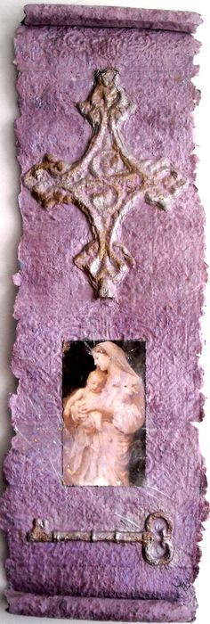 Cast paper Christian art entitled Jesus and by ThresholdPaperArt, $30.00