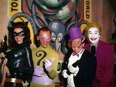 Batman: The Movie (1966) — Lee Meriwether as Catwoman, Frank Gorshin as The Riddler, Burgess Meredith as The Penguin & Cesar Romero as The Joker