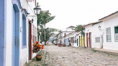 Paraty, Brazil. #destinations #travel Stone Street, Wonderful Places, Brazil, Backdrops, National Parks, Destinations, The Incredibles, Explore, Paraty