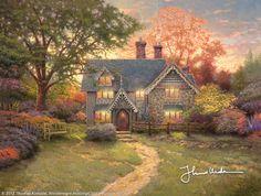 Gingerbread Cottage by Thomas Kinkade