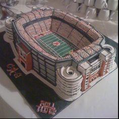 Alabama Crimson Tide Cake Bryant Denny Stadium