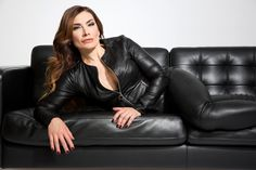 Black Leather Pants, Leather Jacket, Middle Aged Women, Alpha Female, Leather Fashion, Leather Outfits, Women's Fashion, Sexy Outfits, Lady