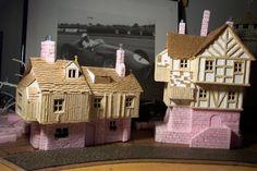 Fantasy Village of Dunbrough (updated - Fantasy Village, Fantasy City, Chateau Fort Jouet, Kitsch, Hirst Arts, Warhammer Terrain, Game Terrain, Wargaming Terrain, Fairy Doors