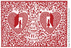 Rob Ryan print for the BHF, for our 15th wedding anniversary