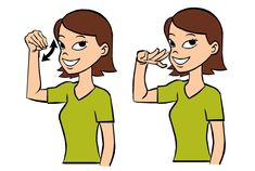 Video: Funny in Sign Language Signing: Extending your middle finger and index finger, make the sign for funny by using these two fingers to brush off your nose. Remember the sign for funny by think… Sign Language Basics, Sign Language Chart, Sign Language For Kids, Sign Language Phrases, Learn Sign Language, British Sign Language, Language Lessons, Deaf People, Asl Signs