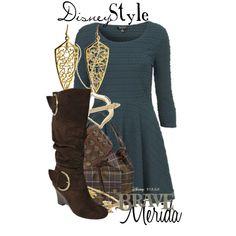 Disney Style : Merida by missm26 on Polyvore