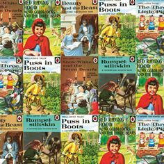 Ladybird Wrapping Paper - Fairy Tales