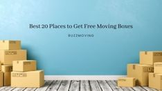 Best 20 Places to Get Free Moving Boxes Free Moving Boxes, Interstate Moving, Moving Tips, Moving House, How To Get, Places, Household, Furniture, Moving Hacks