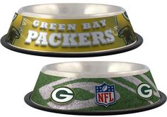 """Go PACKS GO!""...TOUCH DOWN!"" Official Green Bay PACKERS Licensed NFL Fan GameWear for your Furry Quarterback! Choose all of your favorites and let your pet join in the fun of cheering on the Team! Be"