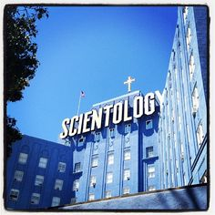 dope crazy Scientology building photo from @DALLASAUSTIN