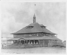 U.S. Immigration Station, Honolulu.  Exterior view of immigration station.  circa 1905