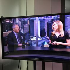 Chris Cordaro with Courtney Woodworth on Asset TV