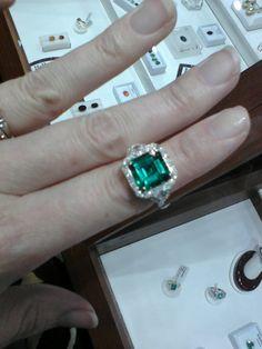 Emerald Asscher.  Love.