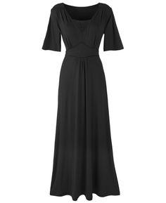 Petite Kimono Jersey Maxi Dress