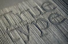 WORD: Woven (Threaded)  **IDEA: Use this for Logo Inspiration