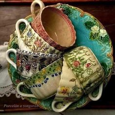 Shabby Shack is now closed. I am a Purveyor of Pottery, Glass, and Asian Porcelain & Consignor at The Consignment Shop in Lake Odessa, Michigan Antique Dishes, Vintage Dishes, Antique China, Vintage China, Shabby Vintage, Vintage Tea, Elsie De Wolfe, Style Deco, My Cup Of Tea