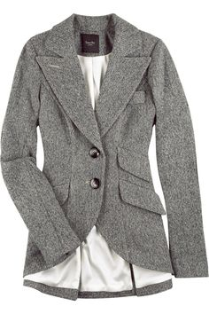 One day I will save up for a Smythe blazer.  I have a thing for this equestrian style.