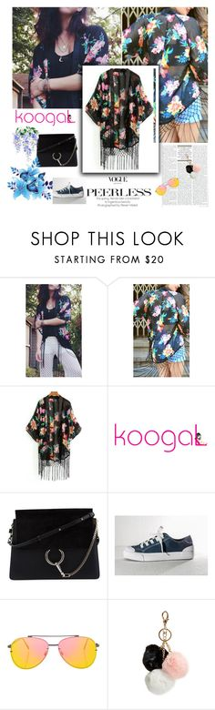 """""""Shop Koogal 7"""" by followme734 ❤ liked on Polyvore featuring Theia, Chloé, Topshop and GUESS"""