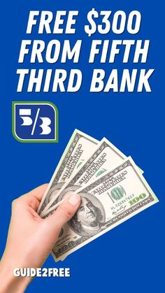 SCORE A FREE $300 FROM FIFTH THIRD BANK!! Right now when you open a new bank account at Fifth Third Bank and make direct deposits totaling $500 or more they will give you a bonus of $300! $300 IS YOURS IN JUST 2 EASY STEPS Open a new checking account by 12/31/2021. Make direct deposits totaling $500 or more within 60 days of account opening. Checking Account, Bank Account, Free Samples, Free Money, Accounting, Third, Easy