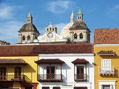Cartagena Colombia - Plaza de la Aduana - Ciudad Amurallada