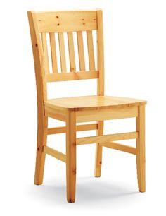 Sedia modello Veronica in pino massiccio. Produzione e vendita mobili Demar Mobili pino. #sedie #mobili #arredamenti www.demarmobili.it