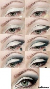 124 Best White Eyeshadow Makeup Images In 2012 Makeup White