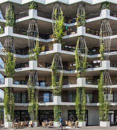 Residential Building by Müller Sigrist Architects. (2015) Location: #Zurich #Switzerland : @lerichti #architectanddesign