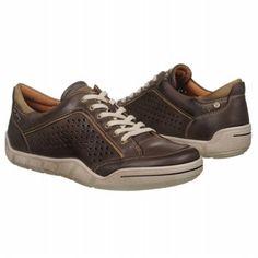 ECCO Andersen Perf Tie Shoes (Coffee/Navajo Brown) - Men's Shoes - 44.0 M