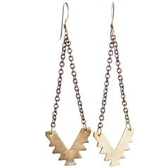 Arrow Earrings ❤ liked on Polyvore featuring jewelry, earrings and earrings jewelry