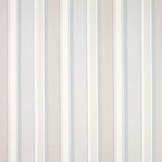 Eaton Stripe Dove Grey/Seaspray Linen/ Curtain Fabric