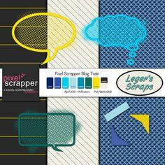 Leger's Scraps: Hello Friends, a mini for you, Reflections