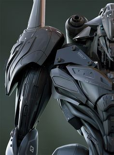 rhubarbes: ArtStation - ANDROMECH (GRENS), by Christophe LACAUX More robots here.