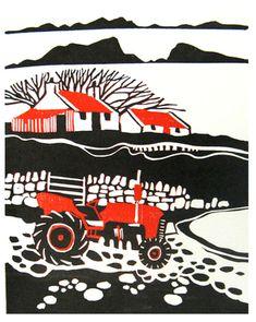 Linocut Editions — Liz Myhill