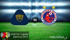 Pumas vs Veracruz, vuelta de la Liguilla del A2015 ¡En vivo por internet! - http://webadictos.com/2015/11/29/pumas-vs-veracruz-liguilla-apertura-2015/?utm_source=PN&utm_medium=Pinterest&utm_campaign=PN%2Bposts
