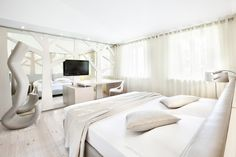 """Hotel Cadelach """"#betulla"""" room. the Cadelach #Forest #Rooms: 8 rooms which draw their inspiration directly from nature and the four elements."""
