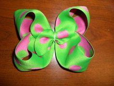 DIY Ribbon Bow : DIY Twisted Boutique Hair Bows