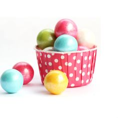 Shimmer Gumballs - almost too pretty to eat!