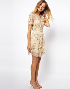 Needle & Thread | Needle & Thread Blossom Dress at ASOS