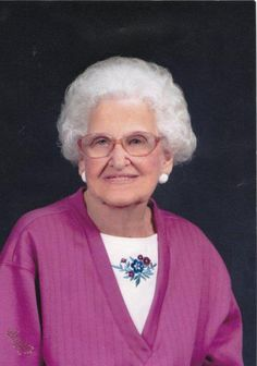"""Winnie Massey Walker, March 29, 1913 - April 1, 2007"" ~George"