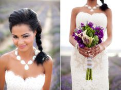 A Lavender Sunset Styled Shoot