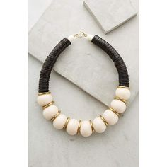 """Aliandra Necklace for Anthropologie Retail Price ($148.00) Sale Price I paid (79.95) Online Exclusive  By Soko Brass, resin, coconut shell Hook-and-eye closure Handmade in Kenya 15""""L, 1""""W Anthropologie Jewelry Necklaces"""