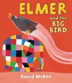 address bulli, elmer eleph, big bird, elmer unit, birds, children book