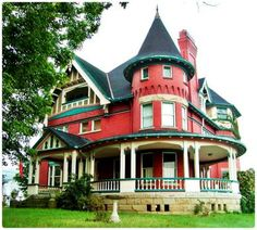 """William E. Mohler House - Also known as """"Hill Grove,"""" is a historic home located at St. Albans, Kanawha County, West Virginia. It was built about 1900, and is a 2 1/2-story, frame rectangular dwelling with a corner tower in the Queen Anne style. - Wikipedia"""