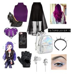 """""""Gothic Rarity"""" by totorolover13 on Polyvore featuring WearAll, Coast, Rebecca Minkoff, Club Exx, FRACOMINA, Bari Lynn and Harajuku Lovers"""