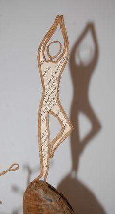 Die 122 Besten Bilder Von Drahtfiguren Paper Art Twine Und Wire Art