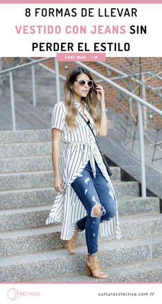 f327598ba0 Usar vestido sobre pantalones el equivalente a llevar una camisa larga